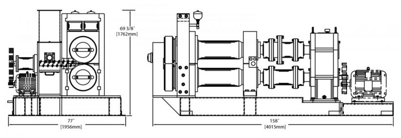 B400B Briquetting Machine Diagram