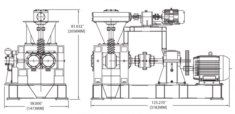DH300 Briquetting Machine Diagram
