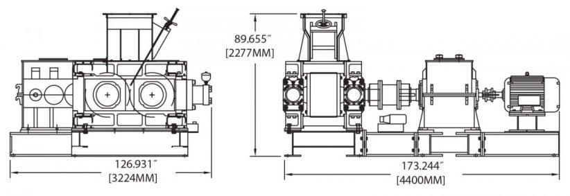 DH450 Briquetting Machine Diagram