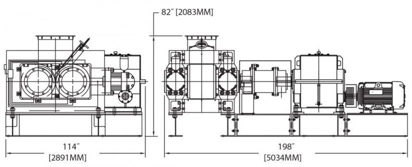 DH500 Briquetting Machine Diagram