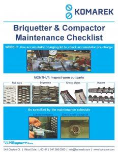 KOMAREK Installation and Maintenance