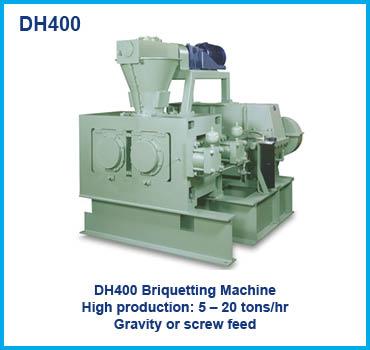 DH400 Briquetting Machine