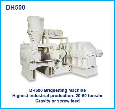 DH500 Briquetting Machine